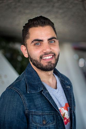 Mohammed Badran - Netwerk van Syrische vrijwilligers in Nederland © Ilvy Njiokiktjien