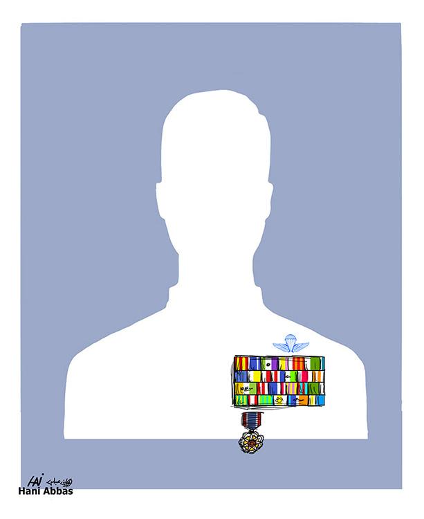 Cartoon-Hani-Abbas-Facebook-generaal
