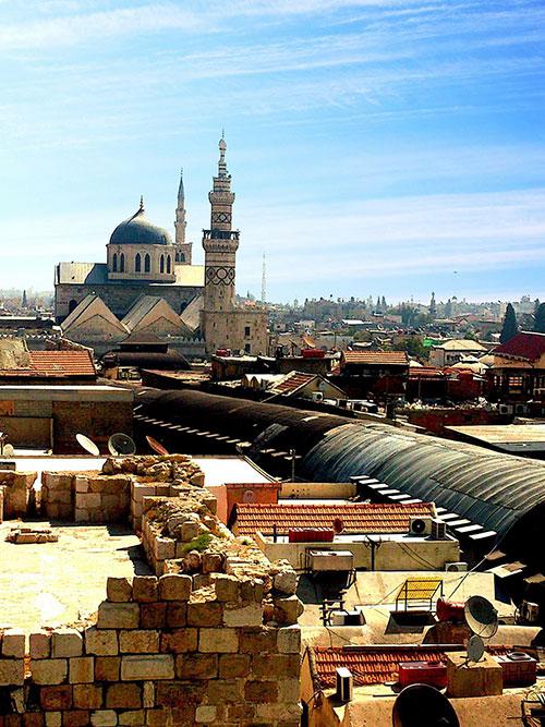 Oud centrum Damascus