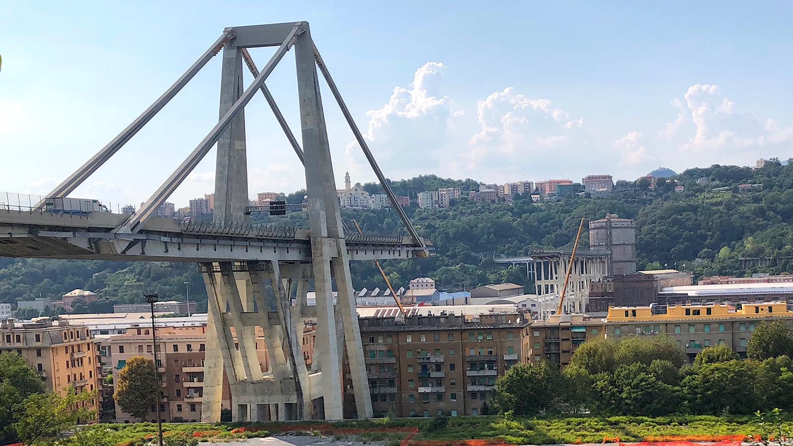 Ponte morandi crollato Genua
